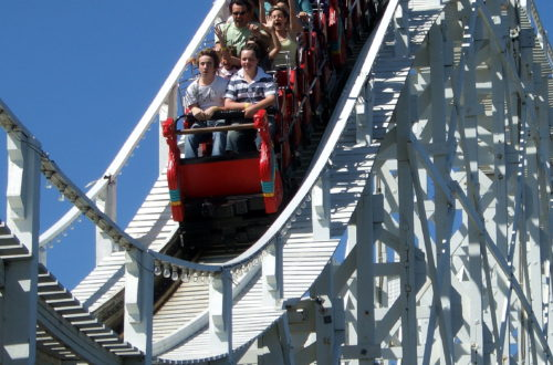 Should you get off the stock market roller coaster and invest in real estate instead?