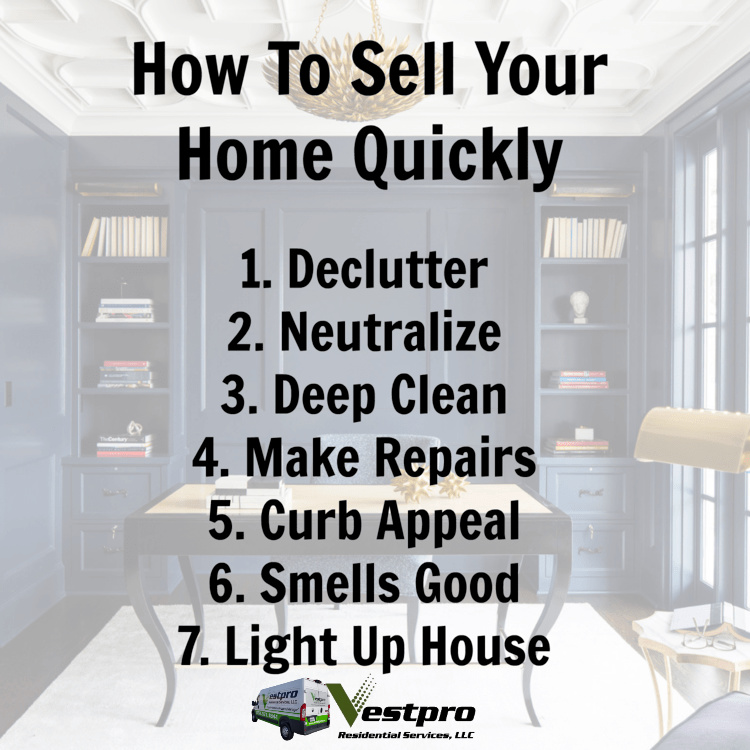 Selling your home? Here's a few good tips from vestpro